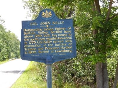 Col. John Kelly Marker image. Click for full size.