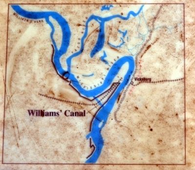 Williams' Canal and Surrounding Area image. Click for full size.