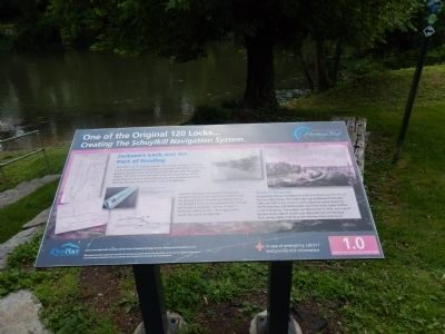 Jackson's Lock and the Port of Reading Marker image. Click for full size.