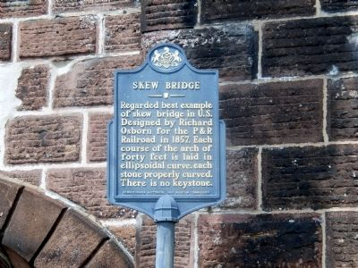 Skew Bridge Marker image. Click for full size.