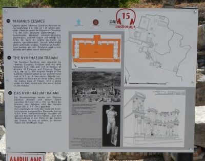 The Nymphaeum Traiani Marker image. Click for full size.
