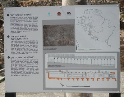 The So-Called Alytarchs' Stoa Marker image. Click for full size.
