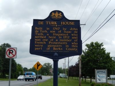 De Turk House Marker image. Click for full size.