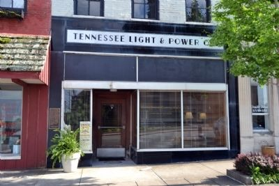 Storefront of Tennessee Light and Power Company Building image. Click for full size.