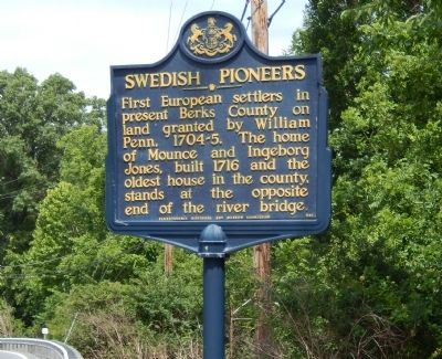 Swedish Pioneers Marker image. Click for full size.