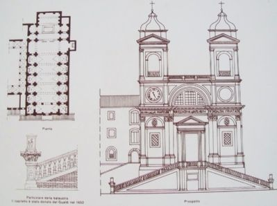 Church of the Most Holy Trinity of the Mountains Drawings on Marker image. Click for full size.