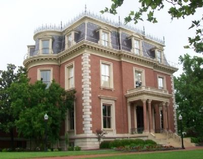 Missouri Governor's Mansion image. Click for full size.