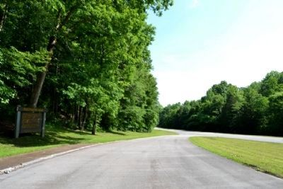 View to North Along Natchez Trace Parkway image. Click for full size.