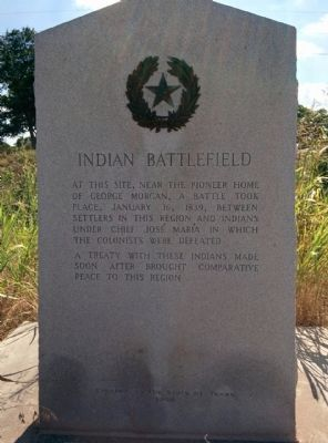 Indian Battlefield Marker image. Click for full size.