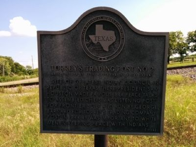 Torrey's Trading Post No. 2 Marker image. Click for full size.