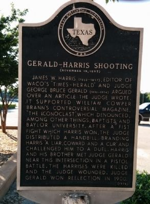 Gerald-Harris Shooting Marker image. Click for full size.