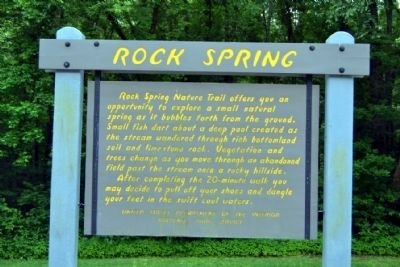 Rock Spring Marker image. Click for full size.