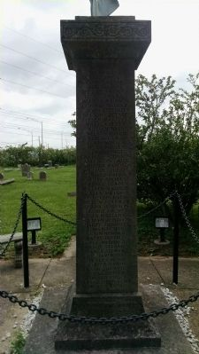 Kentucky African American Civil War Memorial (West face) image. Click for full size.