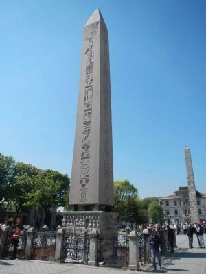 Obelisk of Theodosius image. Click for full size.