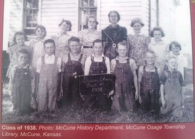 Photo on Green Elm School, District 41 Marker image. Click for full size.