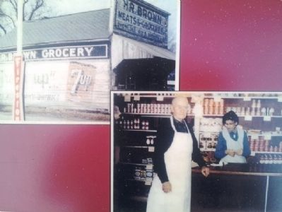 Photos on H. R. Brown's Grocery Store Marker image. Click for full size.