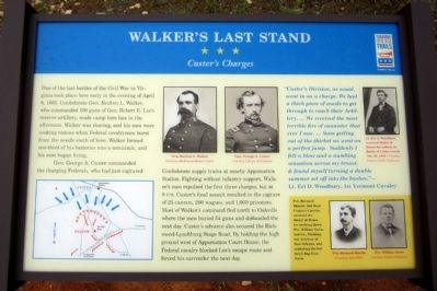Walker's Last Stand Marker image. Click for full size.