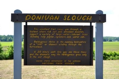 Donivan Slough Marker image. Click for full size.