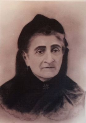 Dona Vicenta Sepulveda de Yorba de Carrillo (1813-1907) image. Click for full size.
