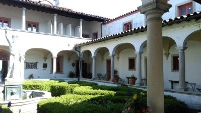 Villa Terrace Courtyard image. Click for full size.