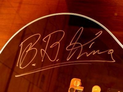B. B. King Photo, Click for full size