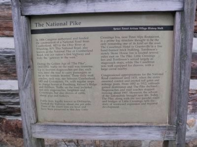 The National Pike Marker image. Click for full size.