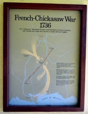 French - Chickasaw War image. Click for full size.