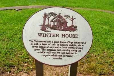 Winter House Info Sign image. Click for full size.