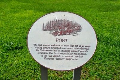 Fort Info Sign image. Click for full size.