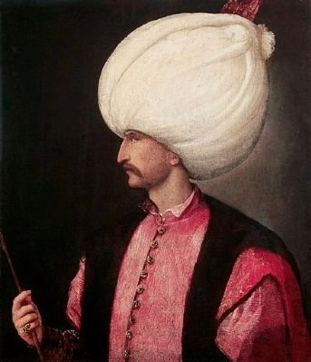 Suleiman the Magnificent image. Click for full size.