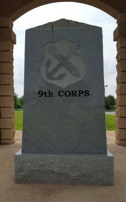 Union Army Ninth Corps Marker image. Click for full size.