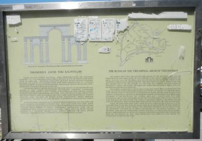 The Ruins of the Triumphal Arch of Theedosius Marker image. Click for full size.