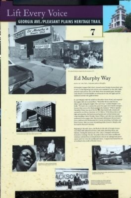 Ed Murphy Way Marker image. Click for full size.