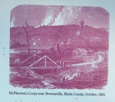 McPherson's Corps near Brownsville image. Click for full size.
