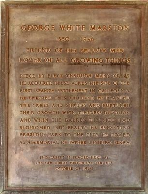 George White Marston Marker image. Click for full size.