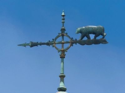 California Bear on the Weathervane image. Click for full size.