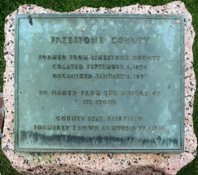 Freestone County Marker image. Click for full size.