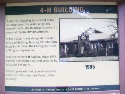 4-H Building Marker image. Click for full size.