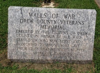 Walls of War Marker image. Click for full size.