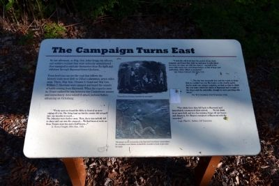 The Campaign Turns East Marker image. Click for full size.
