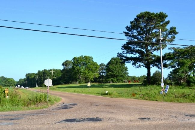 Marker at Intersection of Old Port Gisbon Road and Port Gibson Street image. Click for full size.