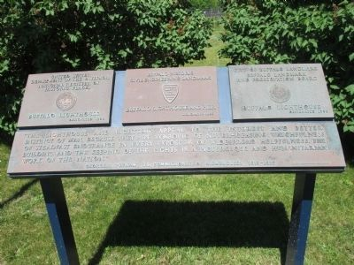 Related Plaques on the Walkway to the Ligthouse image. Click for full size.