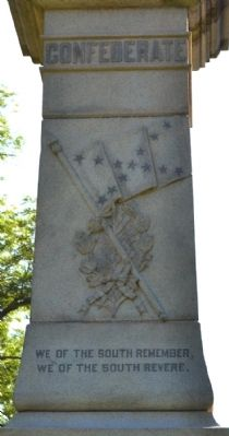 Inscription on Front Side of Memorial image. Click for full size.