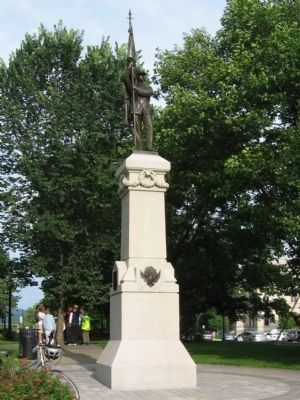 Pittsfield Soldiers Monument image. Click for full size.