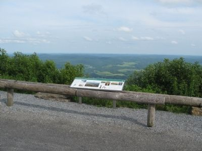 Adams Overlook: A Town Tied to the Mountain Marker image. Click for full size.