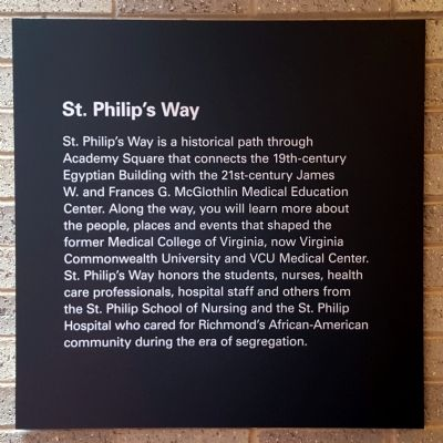 St. Philip's Way Marker image. Click for full size.
