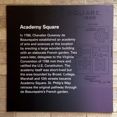 Academy Square Marker image. Click for full size.