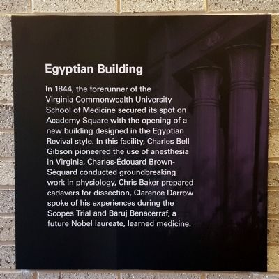 Egyptian Building Marker image. Click for full size.