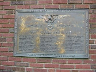 Lanesborough Remembers Marker image. Click for full size.