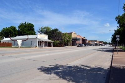View to North Along S. Main Street (US 283) image. Click for full size.